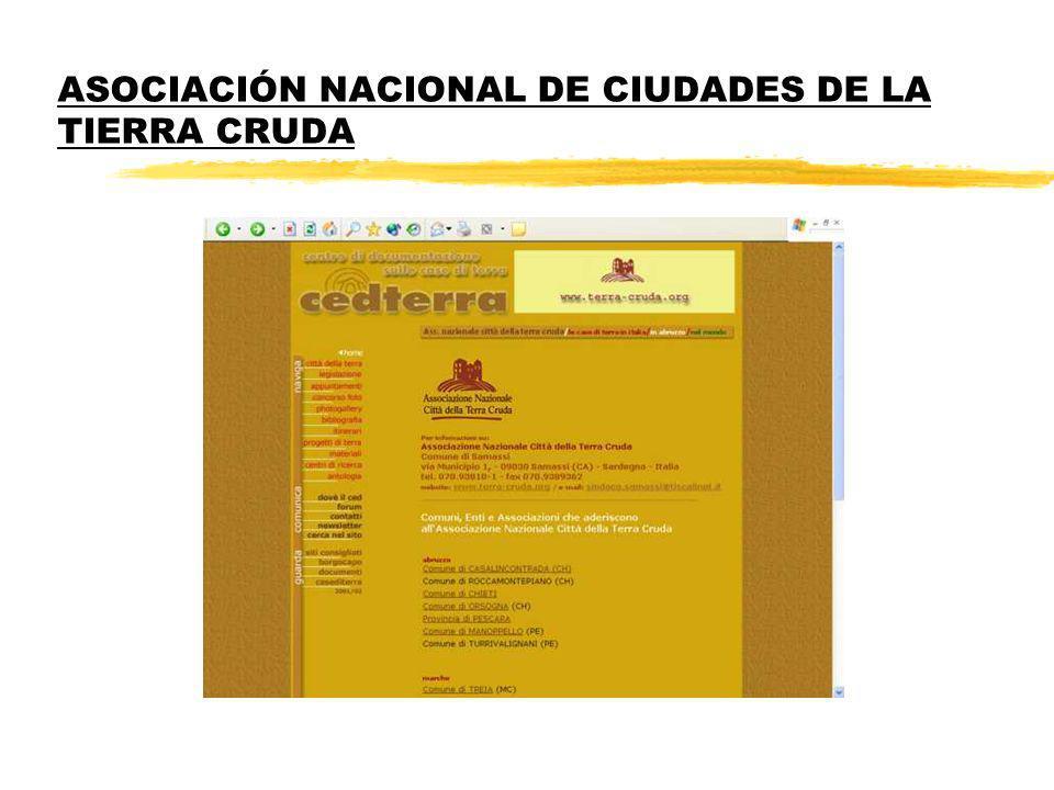 ASOCIACIÓN NACIONAL DE CIUDADES DE LA TIERRA CRUDA