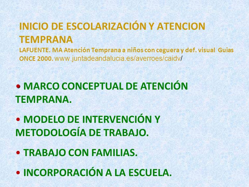 INICIO DE ESCOLARIZACIÓN Y A.TEMPRANA Lucerga R. Gastón, E.