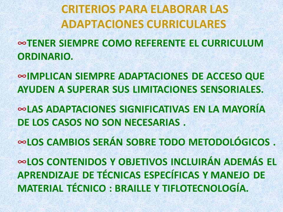 NECESIDADES EDUCATIVAS ESPECIALES CARACTERÍSTICAS DEL ALUMNO CIEGO NECESITA MAS TIEMPO PARA REALIZAR LAS TAREAS.
