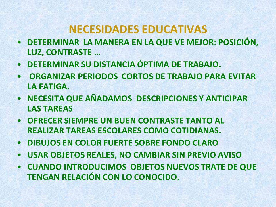 PRINCIPIOS METODOLOGICOS.ENTRENAR FUNCIONES ÓPTICAS BÁSICAS.