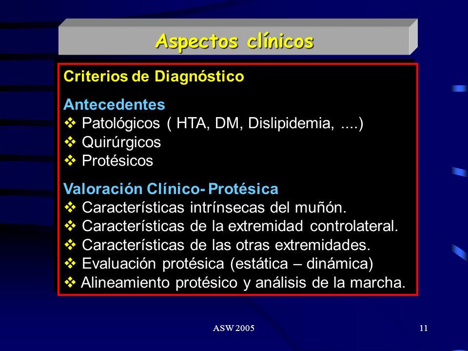 ASW 200510 AMPUTADO Miembro Superior Protetizable EVALUACION INTEGRAL Médica Terapia Física Terapia Ocupacional Psicológica Sociolaboral Miembro Infer