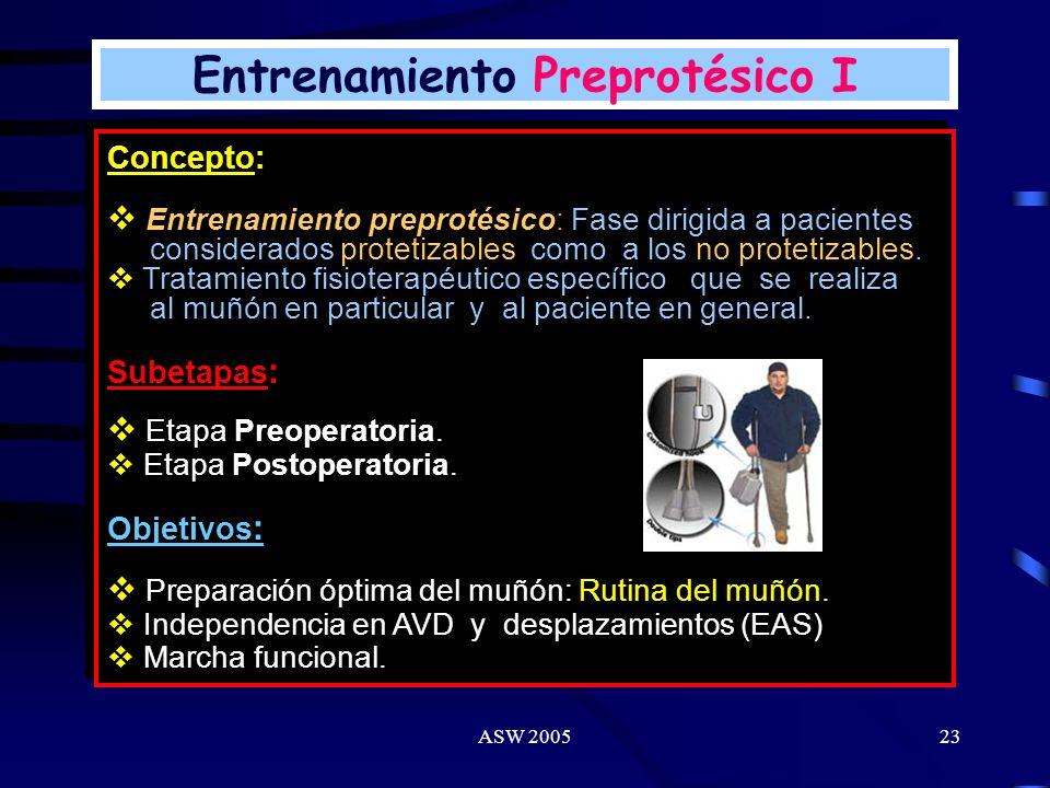 ASW 200522 Alineamiento Protésico Alineamiento: Estático/Dinámico. Aun el encaje (interface muñon/prótesis) mejor adaptado no es confortable sin un ad
