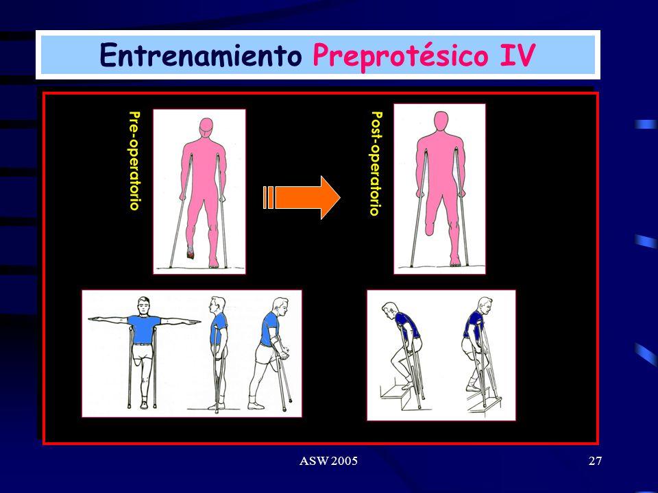 ASW 200526 Entrenamiento Preprotésico III