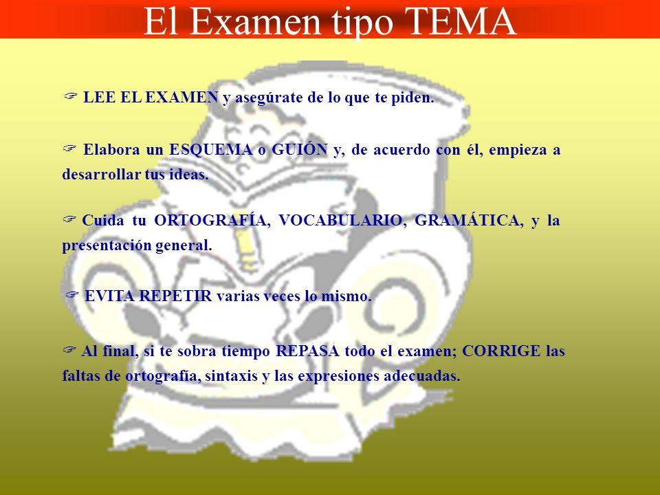 El Examen tipo PRUEBA OBJETIVA ASEGURATE del tipo de respuesta que te solicitan: subrayar, tachar, señalar, añadir,....