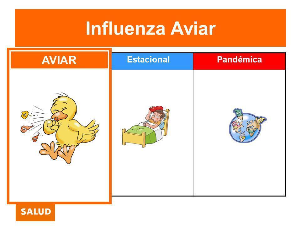 Influenza Aviar Aviar EstacionalPandémica AVIAR