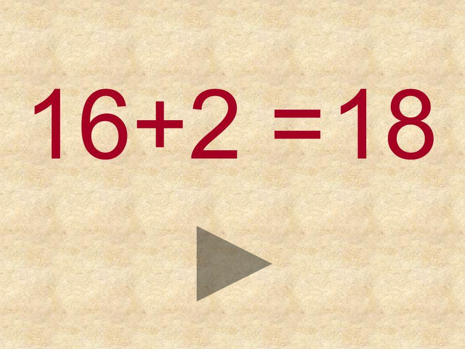 16+2 = 191718