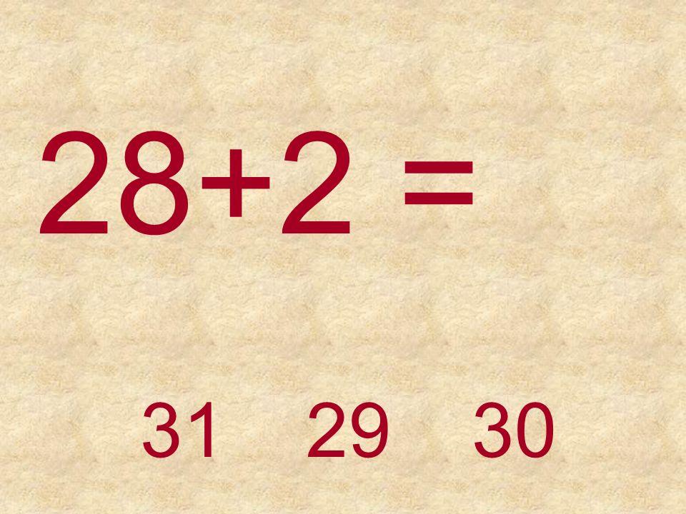 24+2 =26