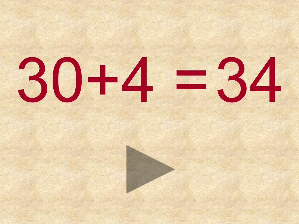 30+4 = 353334