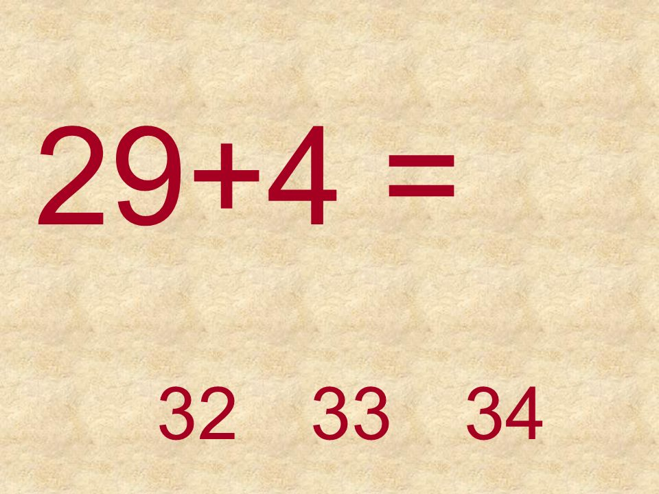 35+4 =39