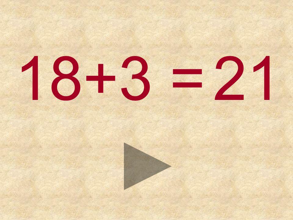 18+3 = 222321
