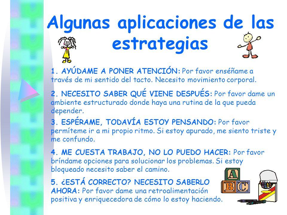 Currícula adaptada Algunos cuestionamientos previos para planificar la intervención educativa son: ¿Cuanto tiempo puede prestar atención estando en grupo.