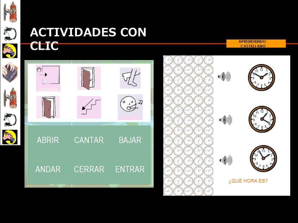 ACTIVIDADES CON CLIC