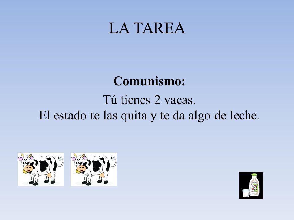 LA TAREA TAREA 1 Realizar un estudio comparativo que muestre las diferencias entre los distintos sistemas Económicos: Capitalismo, Socialismo y Economía Mixta de mercado.
