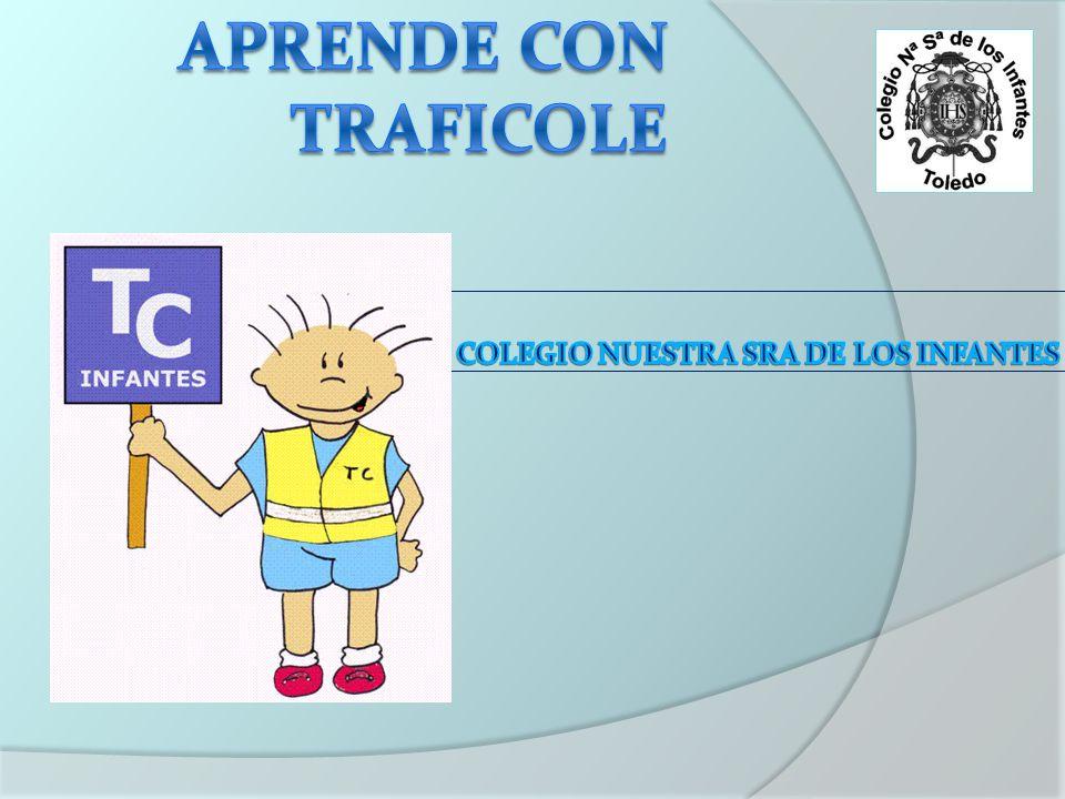 NORMAS DE TRÁFICO INTERNO Como alumno del colegio debes comprometerte a respetar la siguiente normativa: -Debes respetar las indicaciones y las señales de los agentes de traficole.