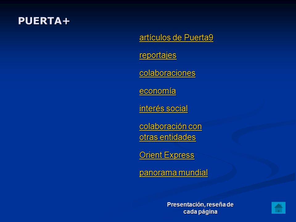 PUERTA+ artículos de Puerta9 reportajes colaboraciones economía interés social colaboración con artículos de Puerta9 reportajes colaboraciones economí