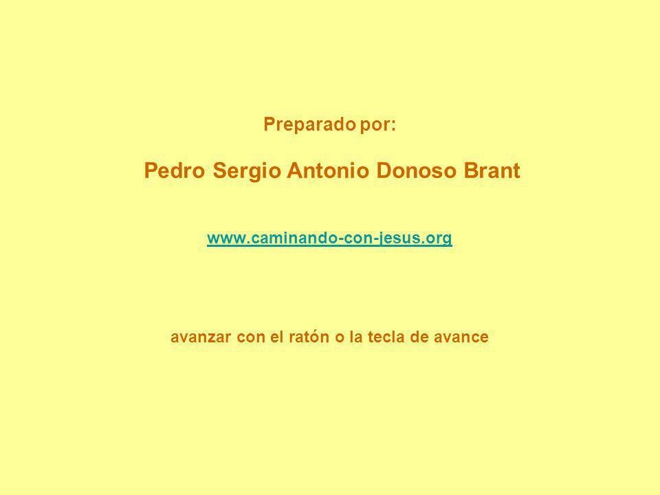 Preparado por: Pedro Sergio Antonio Donoso Brant www.caminando-con-jesus.org avanzar con el ratón o la tecla de avance www.caminando-con-jesus.org