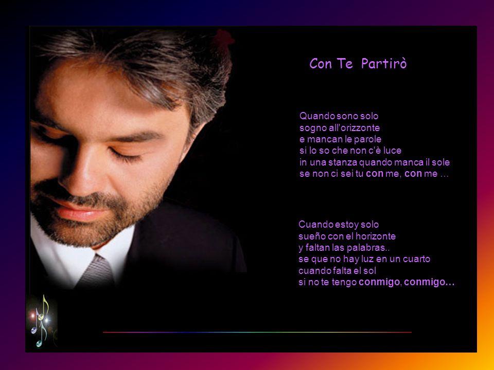 Poseedor de una voz que cala muy profundamente en nuestro corazón. Andrea Bocelli es un artista único, versátil e innovador. En el área de la música p