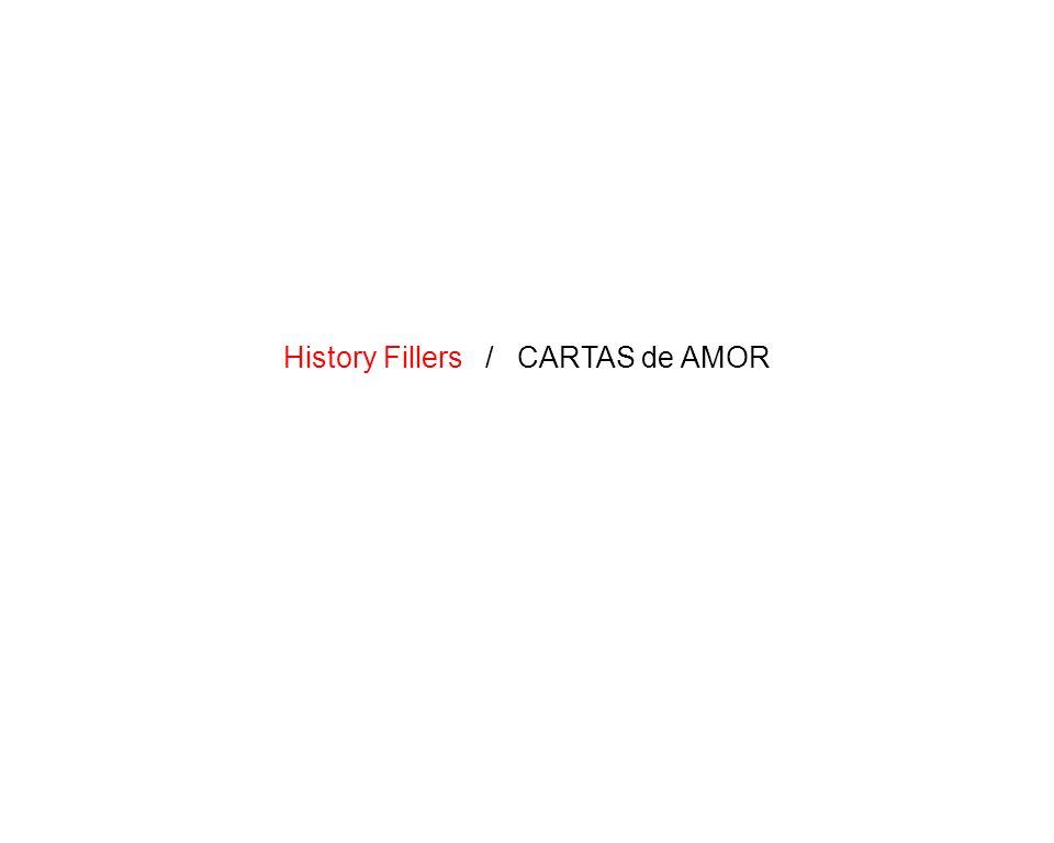 20 / 21 History Fillers / CARTAS de AMOR