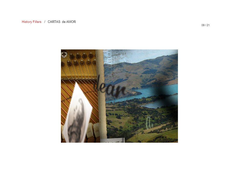 09 / 21 History Fillers / CARTAS de AMOR