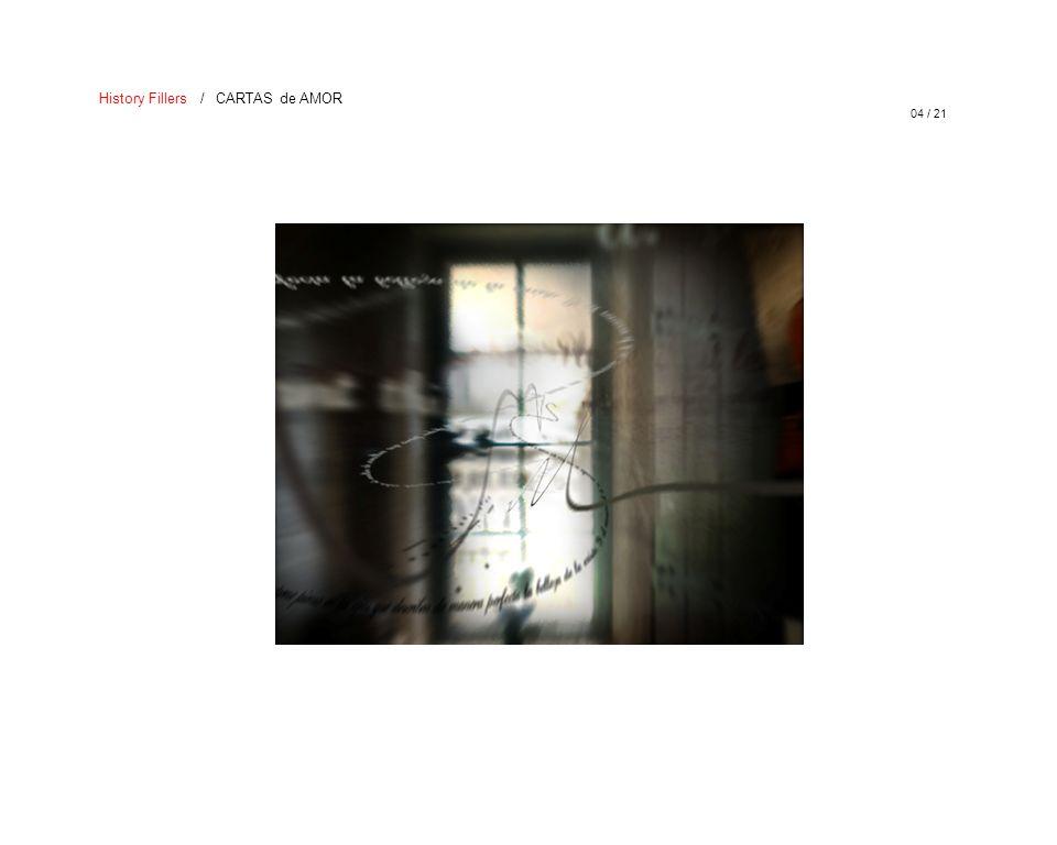 05 / 21 History Fillers / CARTAS de AMOR