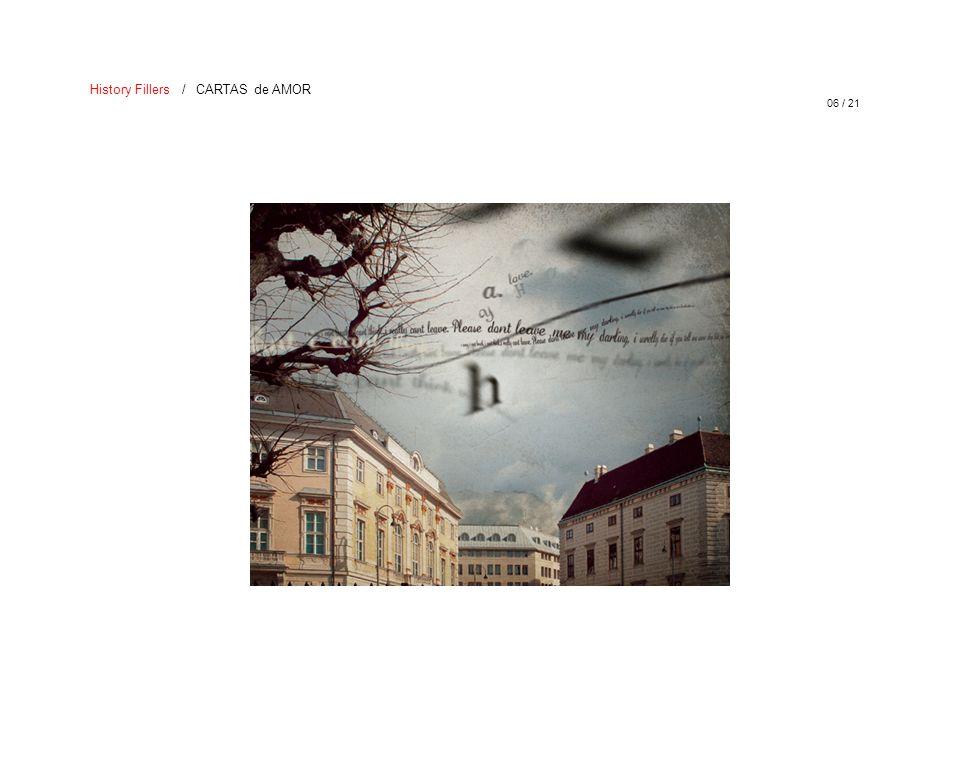 06 / 21 History Fillers / CARTAS de AMOR