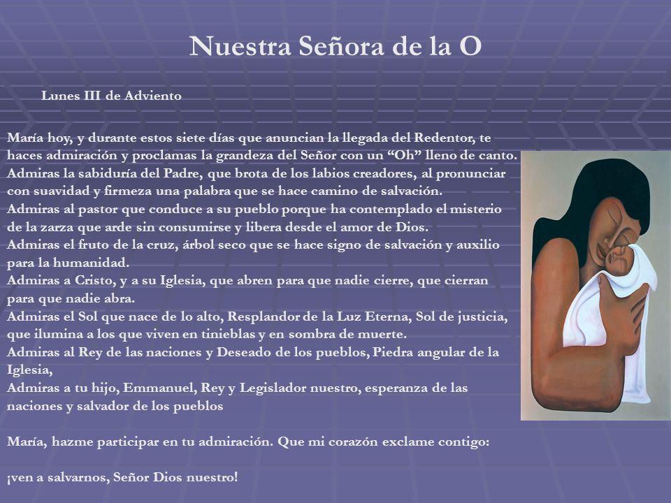 Nuestra Señora de Lourdes Domingo III de Adviento Me acerco hasta ti, María, en la advocación de Lourdes. Me acerco a ti, tan cercano a la Navidad de