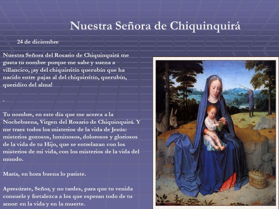 Nuestra Señora de Guadalupe Domingo IV de Adviento Ese es el relato de la primera aparición de la Virgen de Guadalupe. Párate en la sencillez de sus p
