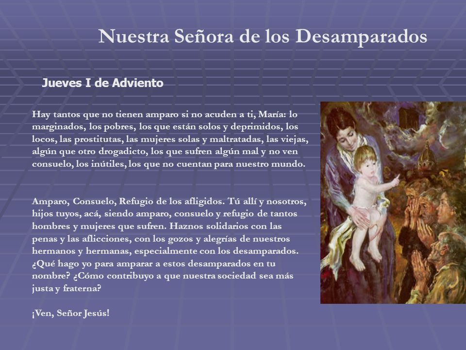 Nuestra Señora de Lourdes Domingo III de Adviento Me acerco hasta ti, María, en la advocación de Lourdes.