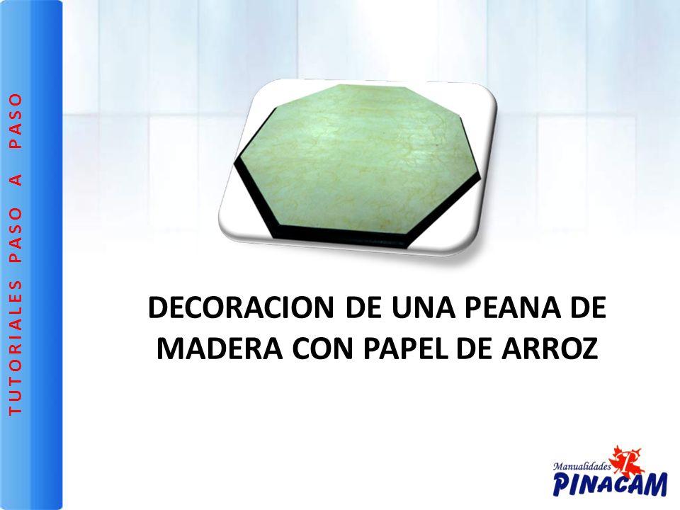 Base de madera octogonal de 36 cm de ancho.Base de madera octogonal de 36 cm de ancho.