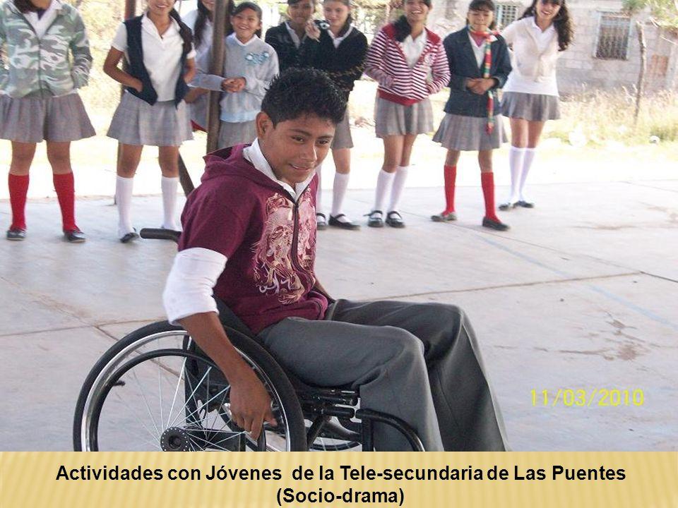 Actividades con Jóvenes de la Tele-secundaria de Las Puentes (Socio-drama)