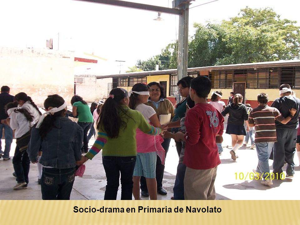 Socio-drama en Primaria de Navolato