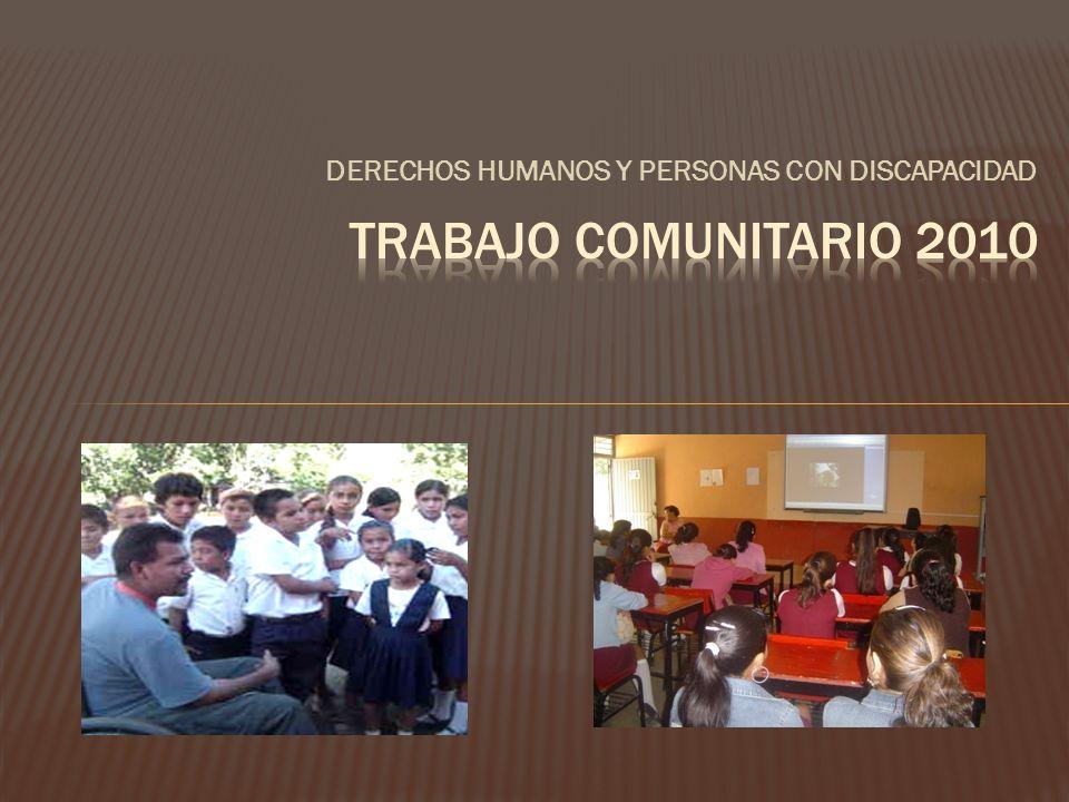 DERECHOS HUMANOS Y PERSONAS CON DISCAPACIDAD