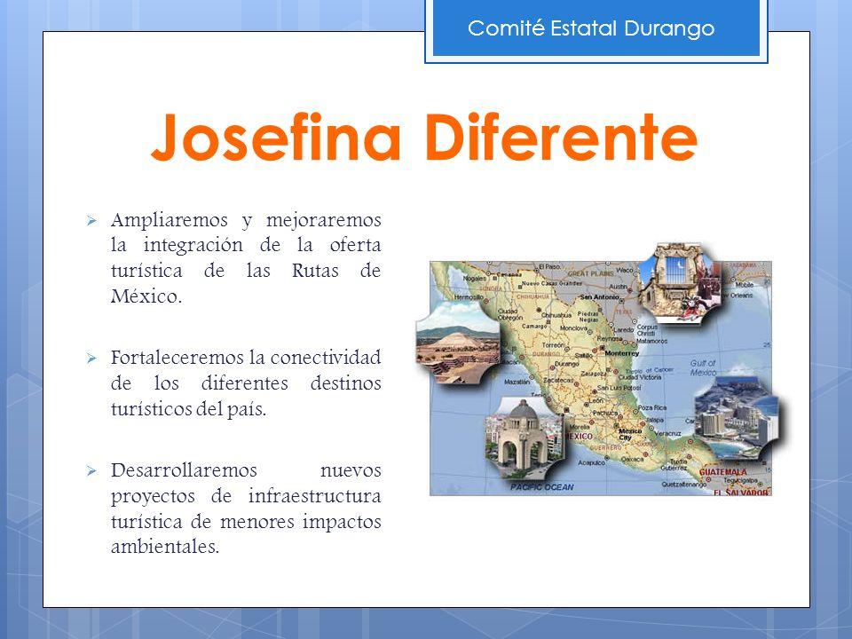 Ampliaremos y mejoraremos la integración de la oferta turística de las Rutas de México. Fortaleceremos la conectividad de los diferentes destinos turí
