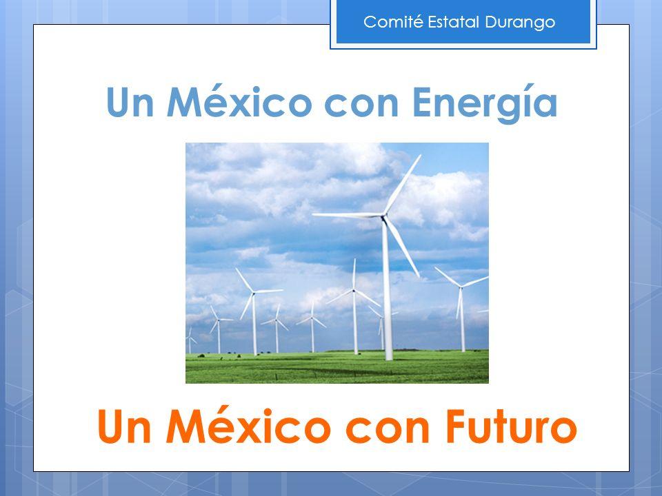 Un México con Energía Un México con Futuro Comité Estatal Durango
