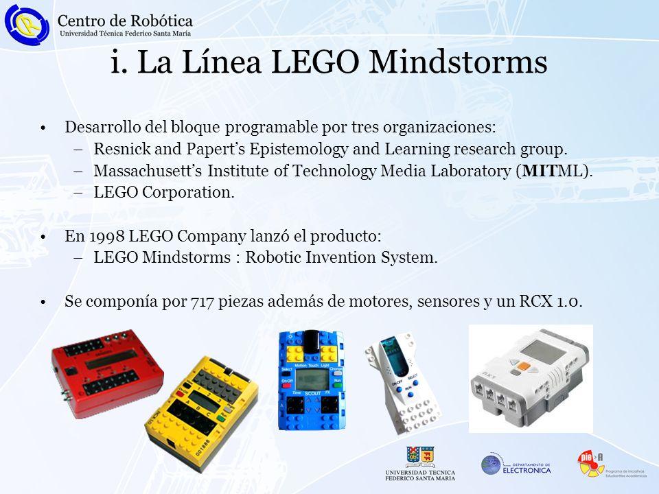 ii.El bloque RCX Unidad Digital Programable.