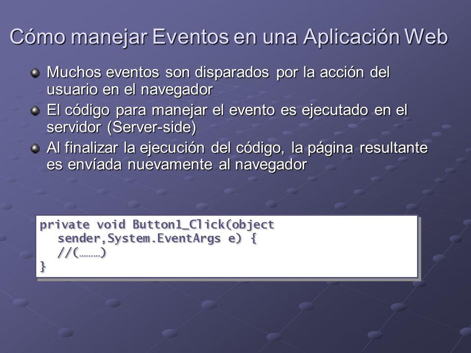 Configurar una Aplicación Web web.config web.config