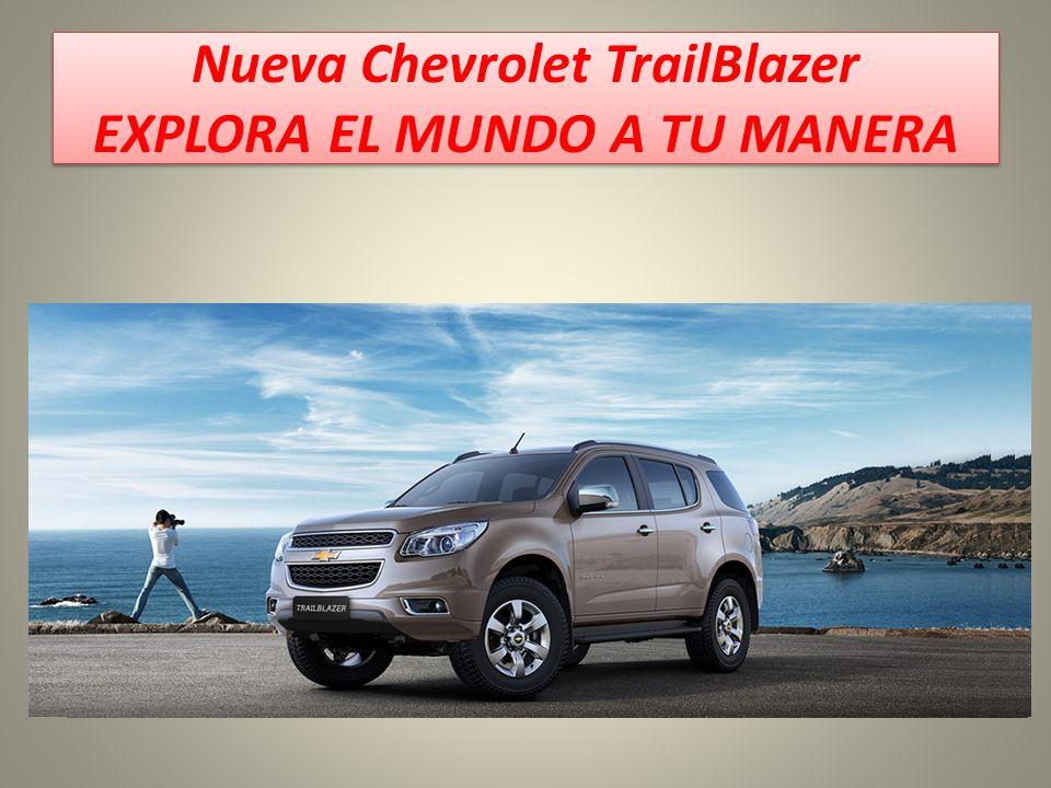 Trailblazer 2013 Chevrolet Trailblazer mejor desempeño más distinción.