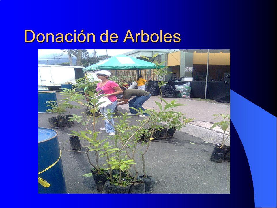 Donación de Arboles