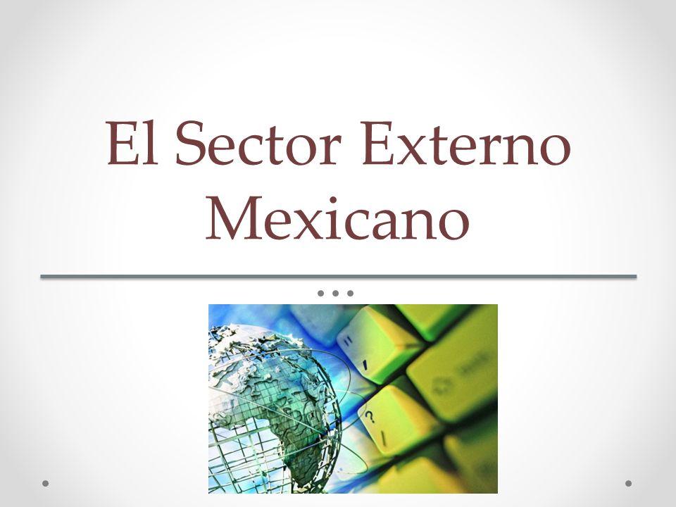 El Sector Externo Mexicano
