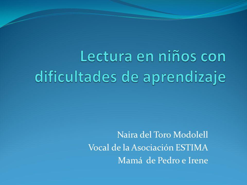 Naira del Toro Modolell Vocal de la Asociación ESTIMA Mamá de Pedro e Irene