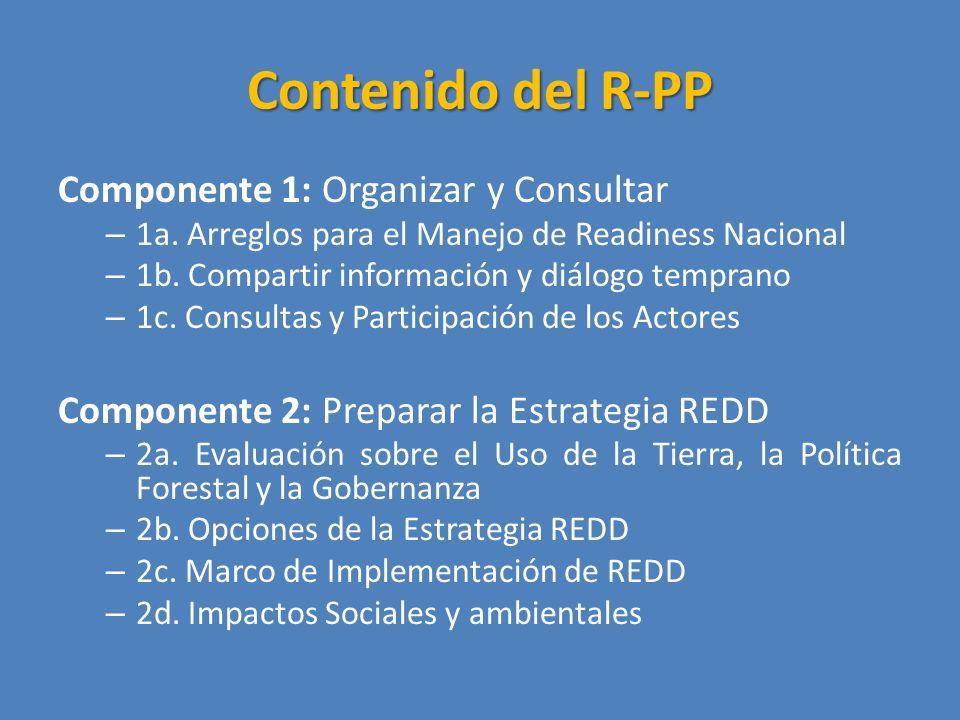 Contenido del R-PP Componente 1: Organizar y Consultar – 1a.