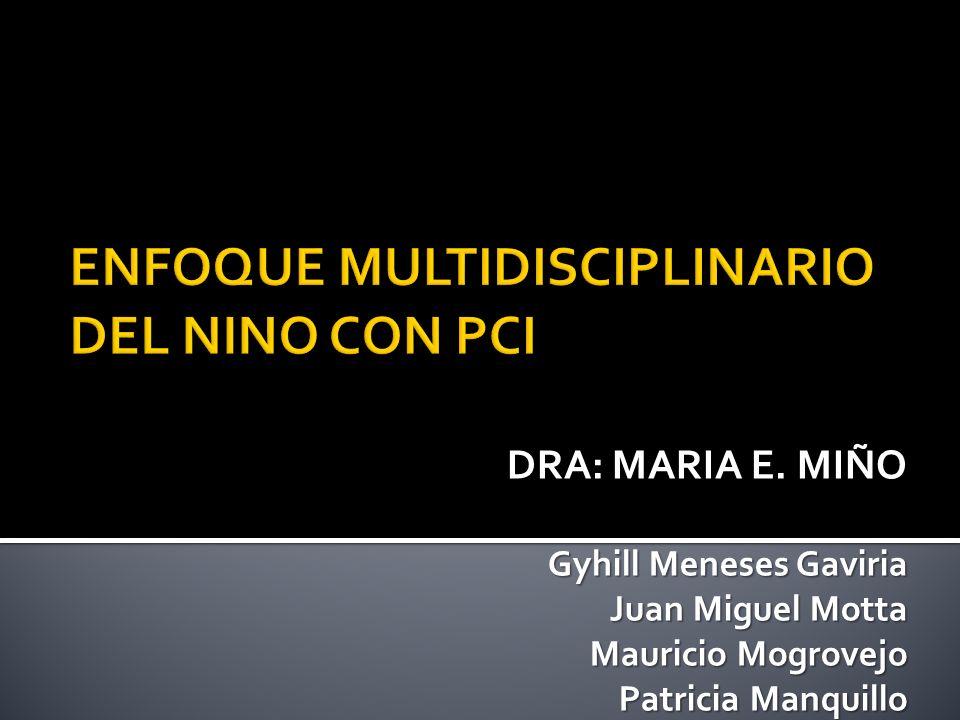 DRA: MARIA E. MIÑO Gyhill Meneses Gaviria Juan Miguel Motta Mauricio Mogrovejo Patricia Manquillo