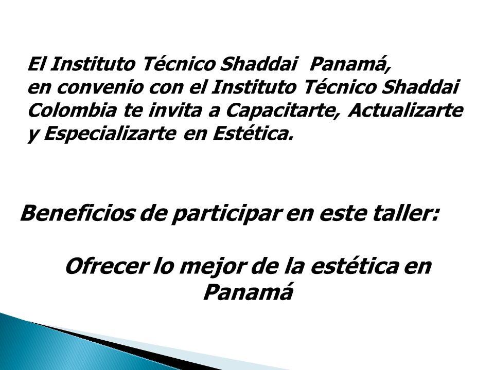 El Instituto Técnico Shaddai Panamá, en convenio con el Instituto Técnico Shaddai Colombia te invita a Capacitarte, Actualizarte y Especializarte en E