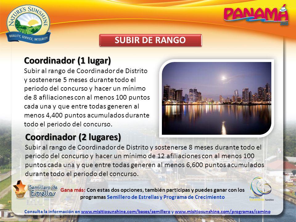 SUBIR DE RANGO Gana más: Con estas dos opciones, también participas y puedes ganar con los programas Semillero de Estrellas y Programa de Crecimiento