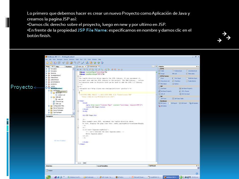 CONFIGURACION MYSQL PARA EL PROYECTO DE NETBEANS