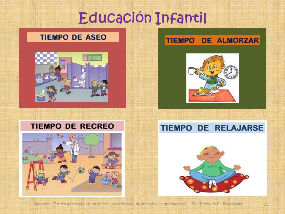 21 Seminario: Estrategias en el aula con alumnos con problemas de atención y comportamiento - CRA Entreviñas - Fuensaldaña Educación Infantil