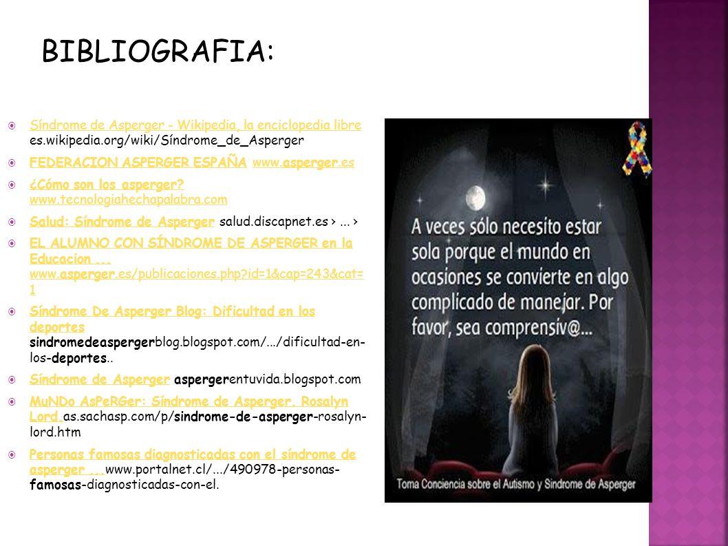 Síndrome de Asperger - Wikipedia, la enciclopedia libre es.wikipedia.org/wiki/Síndrome_de_Asperger Síndrome de Asperger - Wikipedia, la enciclopedia l