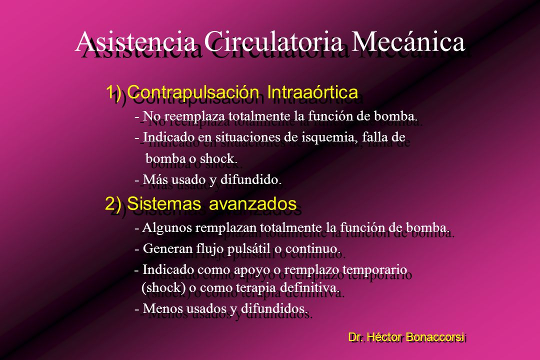 Dr. Héctor Bonaccorsi