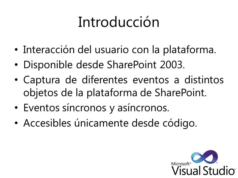 Introducción Interacción del usuario con la plataforma.