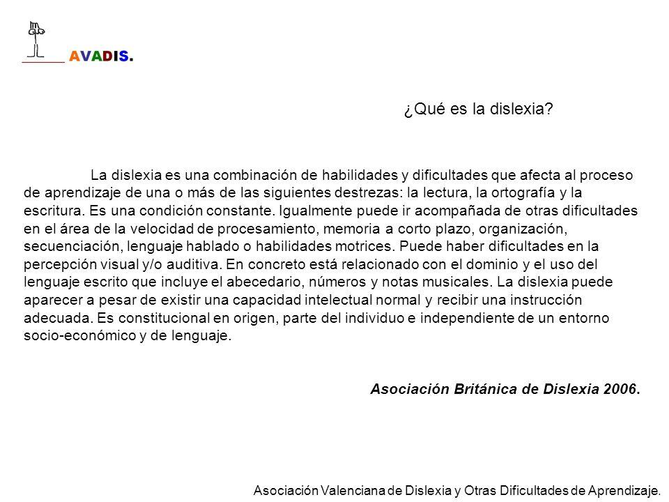Dislexia Discalculia Déficit de atención Disortografía Comorbilidad La presencia de una o más dificultades, además de la dificultad primaria.